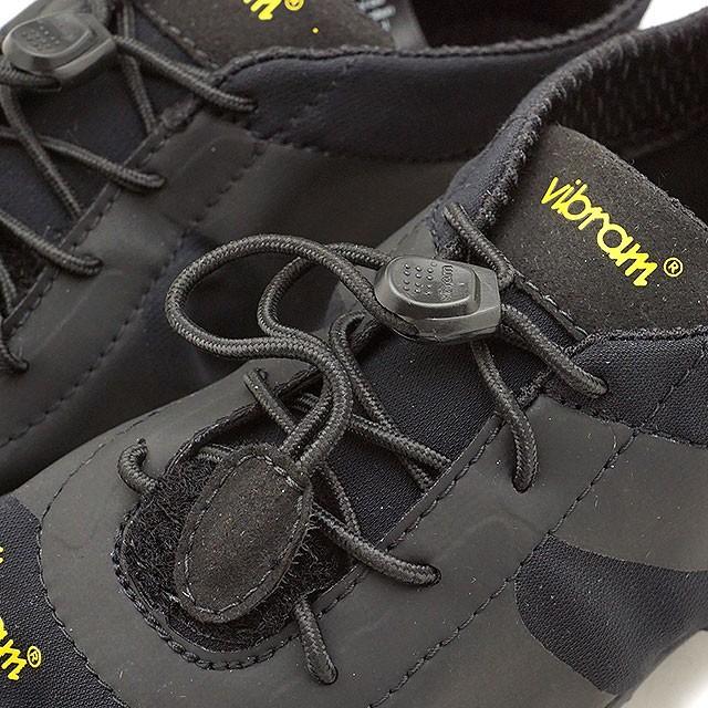 【送料無料】ビブラムファイブフィンガーズ レディース Vibram FiveFingers オールラウンド アウトドア 5本指シューズ V-ALPHA ベアフット 靴 Black [18W7101 SS18]