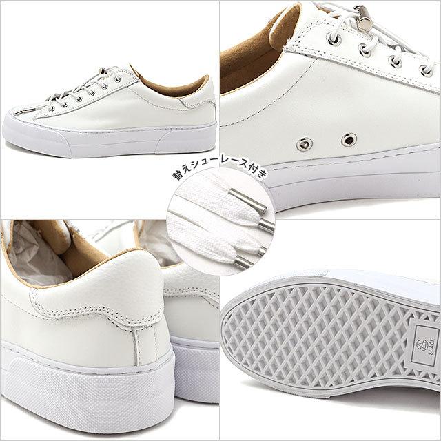 【送料無料】スラック フットウェア SLACK FOOTWEAR スニーカー エルクルード ELCLUDE [SL1911-102 SS21] メンズ・レディース レザー 靴 WHITE/WHITE ホワイト系