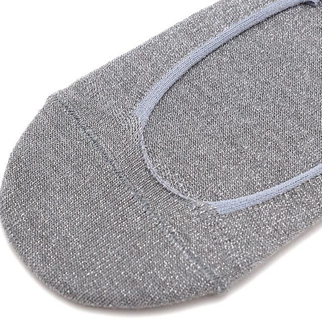 ラソックス rasox レディース ラメ・カバーソックス [CA211CO22 SS21] 靴下 フットカバー 【メール便配送】
