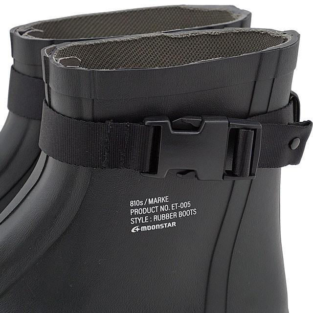 ムーンスター エイトテンス Moonstar 810s マルケ MARKE [54410066 FW20] メンズ・レディース ラバーブーツ BLACK ブラック系