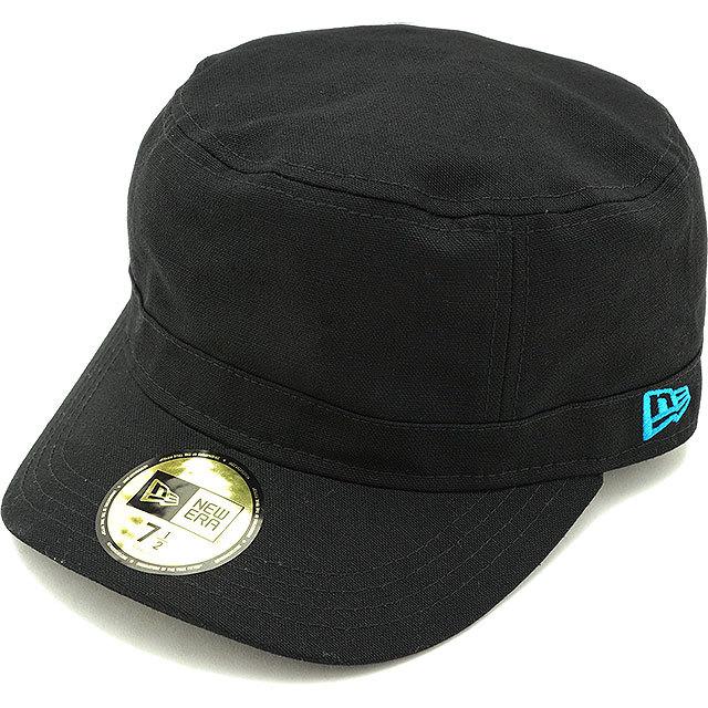 【送料無料】NEWERA ニューエラ キャップ WM-01 ミリタリー ワークキャップ ブラック/ターコイズ(N0004052/11135294)(NEW ERA)cap