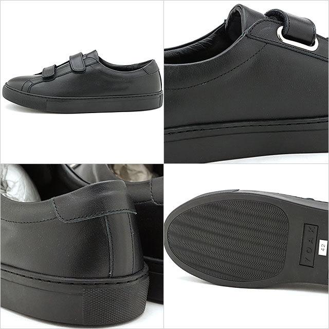 【送料無料】ヨーク YOAK 国産スニーカー ルーク LUKE [ SS20] メンズ 日本製 ベルクロ レザーシューズ 靴 BLACK ブラック系