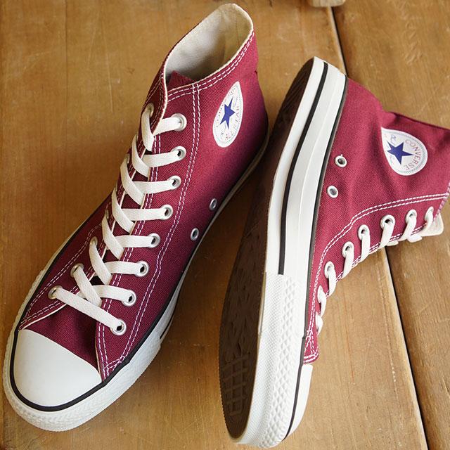 【送料無料】コンバース キャンバス オールスター ハイカット CONVERSE CANVAS ALL STAR HI マルーン (32060132)