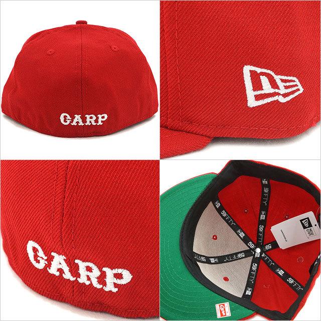 【送料無料】NEWERA ニューエラ キャップ NPB CLASSIC 59FIFTY 日本プロ野球 クラシック フィフティーナインフィフティー 広島東洋カープ スカーレット/ホワイト[11121905/12746972]