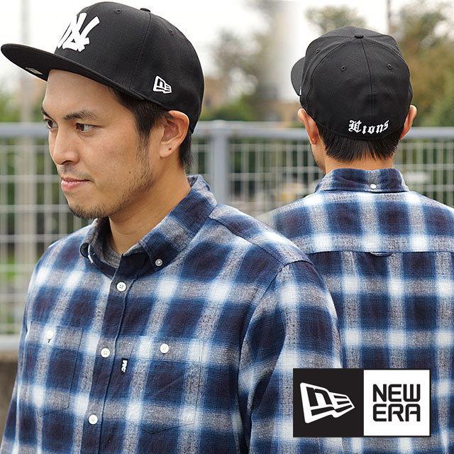 【送料無料】NEWERA ニューエラ キャップ NPB CLASSIC 59FIFTY 日本プロ野球 クラシック フィフティーナインフィフティー 西鉄ライオンズ ブラック/ホワイト[11121863/12746971]