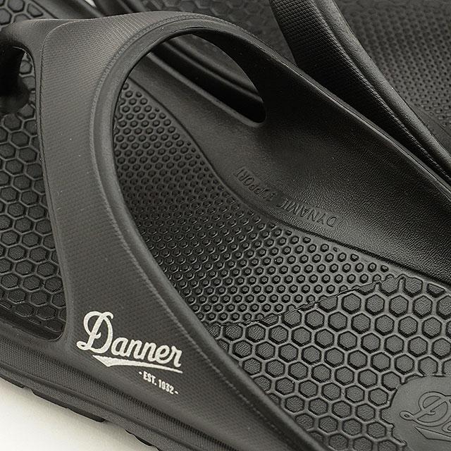 【送料無料】ダナー Danner リラックスサンダル ミズグモ フリップ MIZUGUMO FLIP [D823000 SS20] メンズ・レディース トングタイプ アウトドア キャンプ BLACK ブラック系