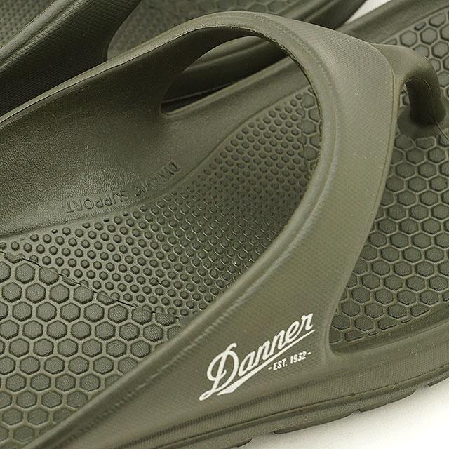 【送料無料】ダナー Danner リラックスサンダル ミズグモ フリップ MIZUGUMO FLIP [D823000 SS20] メンズ・レディース トングタイプ アウトドア キャンプ OLIVE カーキ系