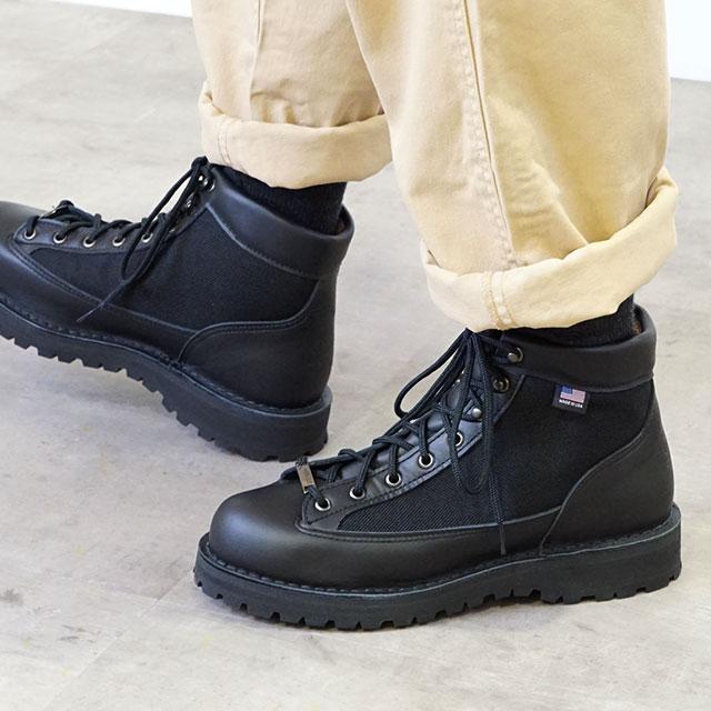 【送料無料】ダナー ダナーライト Danner メンズ ブーツ DANNER LIGHT BLACK 靴 [30465]