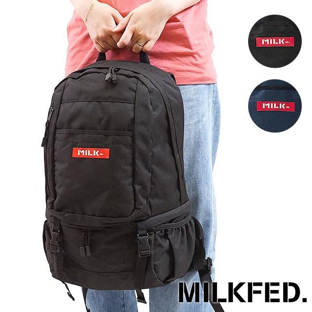 【送料無料】MILKFED. ミルクフェド リュック BIG BACKPACK BAR 2 ビッグ バックパック バー2 デイパック [03171039 FW17]