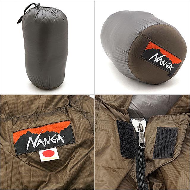 【送料無料】ナンガ NANGA 寝袋 オーロラライト350DX AURORA light 350DX [350DX SS21] ダウン シェラフ レギュラーサイズ キャンプ アウトドア