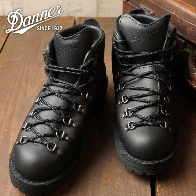 【送料無料】ダナー メンズ ブーツ DANNER MOUNTAIN LIGHT マウンテンライト BLACK 靴 (31530)