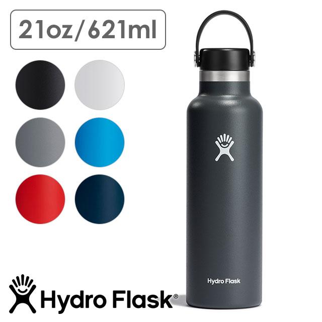 【送料無料】ハイドロフラスク Hydro Flask ハイドレーション スタンダードマウス 621ml HYDRATION Standard Mouth 21oz [5089014 FW20] ステンレスボトル 水筒 直飲み 保温 保冷 アウトドア オフィス ジム ハワイ