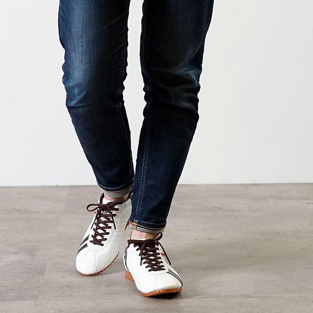 【送料無料】【限定復刻】【返品送料無料】PATRICK パトリック スニーカー メンズ レディース 日本製 靴 SULLY シュリー WH/CH ホワイト系 [26250]
