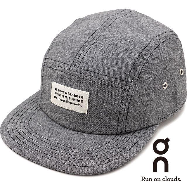 【送料無料】オン On 5パネルキャップ 5 Panel Cap [331.00224 SS21] メンズ・レディース フラットバイザーキャップ 帽子 フリーサイズ グレー グレー系