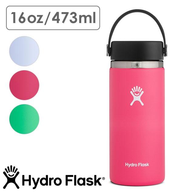 【送料無料】ハイドロフラスク Hydro Flask ハイドレーション ワイドマウス 473ml HYDRATION Wide Mouth 16oz [5089022 FW20] ステンレスボトル 水筒 直飲み 保温 保冷 アウトドア オフィス ジム ハワイ