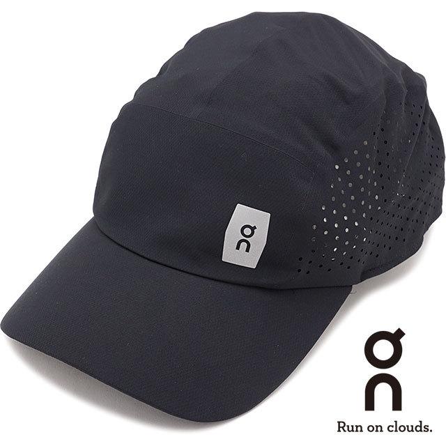【送料無料】オン On ライトウェイトキャップ Lightweight Cap [301.00015 SS21] メンズ・レディース ランニングキャップ 帽子 フリーサイズ ブラック ブラック系