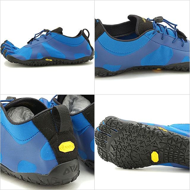 【送料無料】ビブラムファイブフィンガーズ Vibram FiveFingers 5本指シューズ V-ALPHA [19M7102 SS20] メンズ ベアフットスニーカー 靴 Blue/Black ブルー系