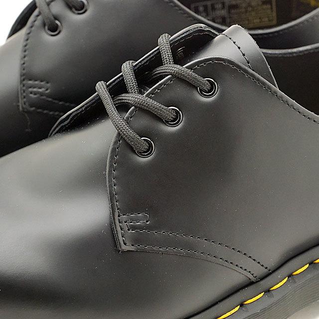 【送料無料】ドクターマーチン Dr.Martens 3ホールシューズ ベックス スムース 1461 BEX SMOOTH メンズ レディース 厚底 靴 BLACK (21084001 SS19)