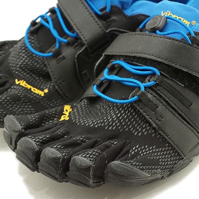 【送料無料】ビブラムファイブフィンガーズ Vibram FiveFingers 5本指シューズ オールラウンドモデル V-Train 2.0 M [20M7703 SS20] メンズ ジム フィットネス トレーニング ランニング スニーカー BLACK/BLUE ブラック系