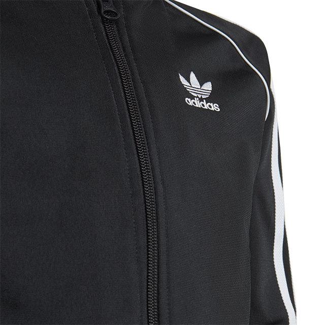 【送料無料】アディダス オリジナルス adidas Originals キッズサイズ セットアップ スーパースタートラックスーツ SST TRACKSUIT [JEA84/H25260 FW21] ジャージ上下 リサイクル素材 BLACK/WHITE ブラック系