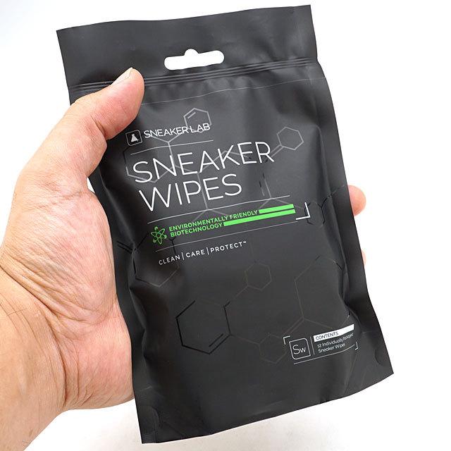 スニーカーラボ SNEAKER LAB スニーカー ワイプス 12パック SNEAKER WIPES-12PACK シューズケア用品 携帯用 汚れ落としペーパークリーナー [27175005 ]