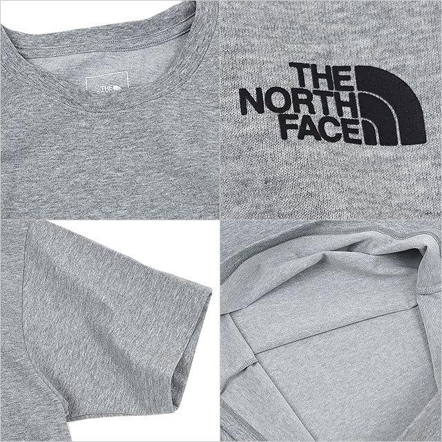 ザ・ノースフェイス THE NORTH FACE メンズ ショートスリーブバックスクエアーロゴティー S/S Back Square Logo Tee [NT32144-Z SS21] TNF トップス 半袖 Tシャツ ポリエステル ミックスグレー グレー系【メール便配送】