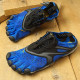 【送料無料】ビブラムファイブフィンガーズ Vibram FiveFingers 5本指シューズ ランニング ウォーキング用 V-RUN M [20M7002 SS20] メンズ スニーカー BLUE/BLACK ブルー系