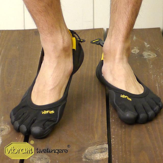 【送料無料】Vibram FiveFingers ビブラム ファイブフィンガーズ メンズ CLASSIC Black 5本指シューズ ベアフット靴 [M108]