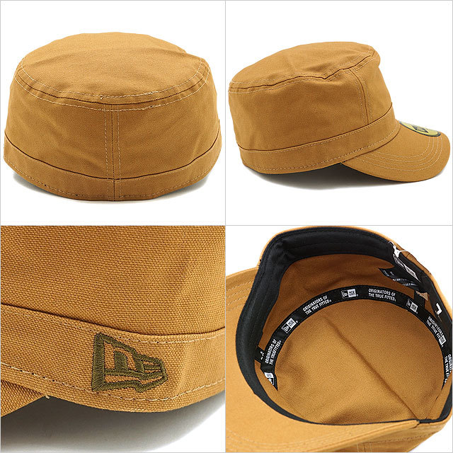 【送料無料】NEWERA ニューエラ キャップ 帽子 CAP WM-01 ミリタリー ワークキャップ タン(N0000851 SC/11135281)(NEW ERA CAP ニューエラキャップ ニューエラ NEWERA ニューエラ NEWERA)