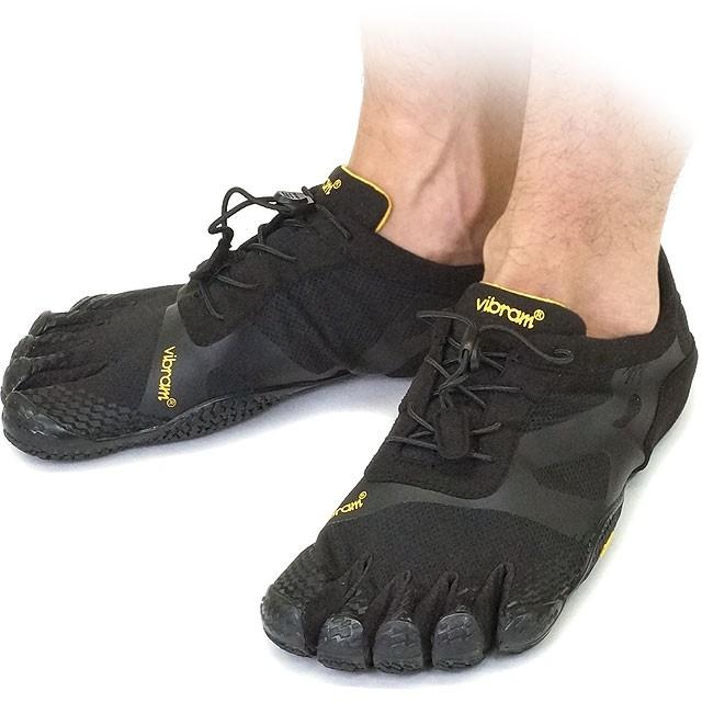 【送料無料】Vibram FiveFingers ビブラムファイブフィンガーズ メンズ KSO EVO Black ビブラム ファイブフィンガーズ 5本指シューズ ベアフット靴 [14M0701]