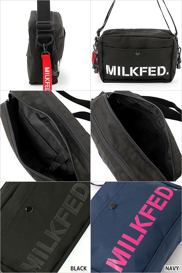 【送料無料】ミルクフェド MILKFED. ネオ ショルダーバッグ バー NEO SHOULDER BAG BAR ミニショルダー レディース かばん [3182097 FW18]