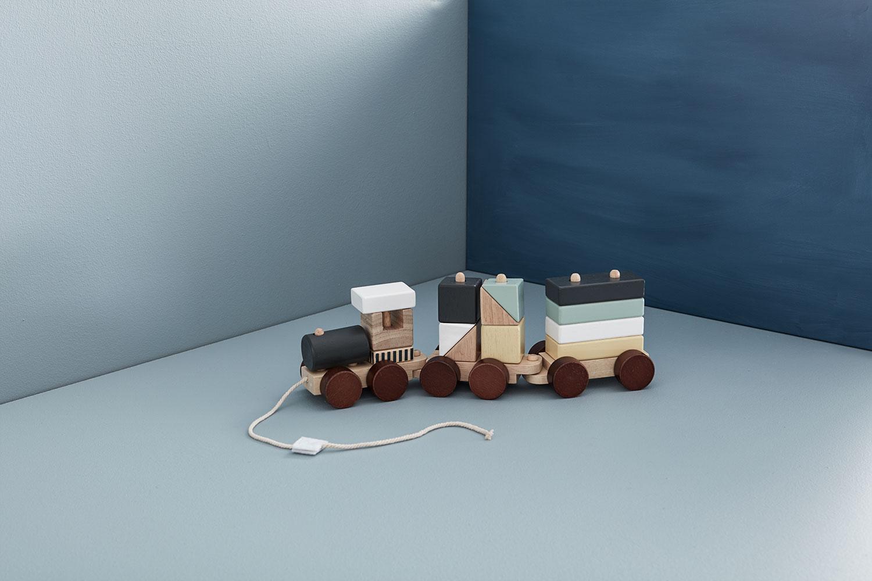 Kid'sConcept Block train (キッズコンセプト ブロックトレイン)