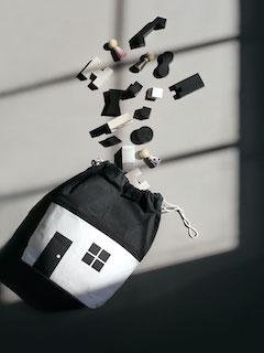 HOUSE STORAGE BAG-Medium(ハウスストレージバッグ ミディアム)
