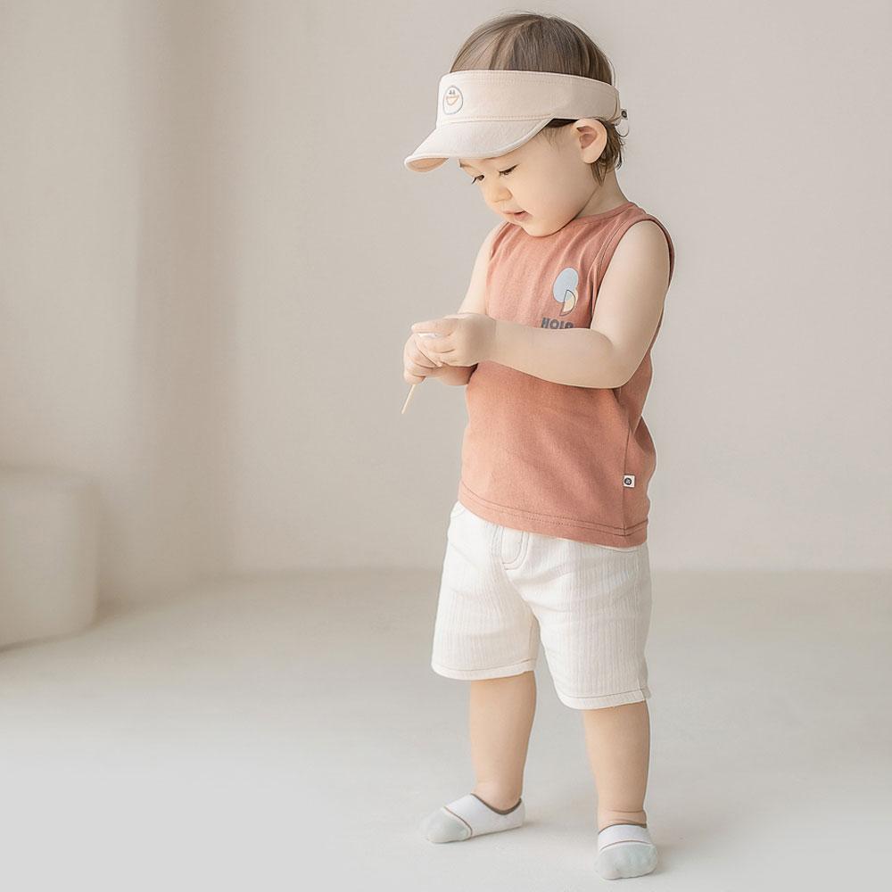 【ネコポス対応】デュアノースリーブtシャツ【ベビー】【キッズ】【正規品】韓国子供服 韓国こども服 ベビー服