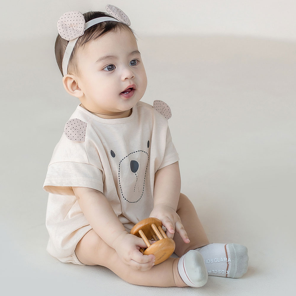 【ネコポス対応】ポンタズソックス・滑り止め付★ベビー靴下【HAPPY PRINCE正規品】韓国子供服