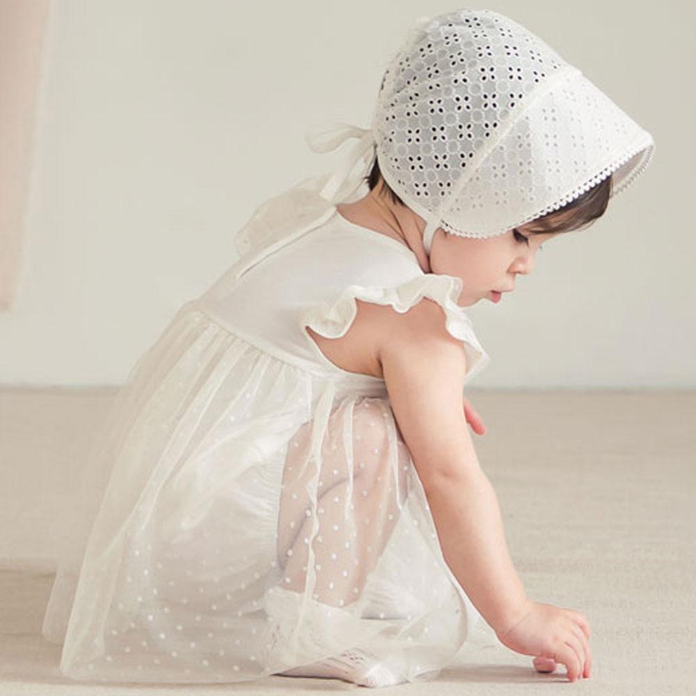 【ネコポス対応】クロエボネット★レースベビー帽子【ベビー】【キッズ】【正規品】レース帽子 ベビー帽子 赤ちゃん帽子 赤ちゃんヘアーアクセサリー 写真撮影