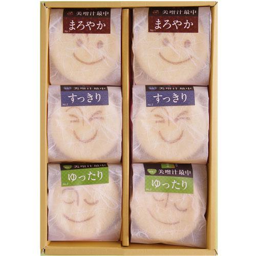 美噌汁最中 6個箱 (A_102)