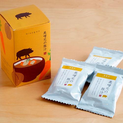 美噌元の豚汁 3食箱