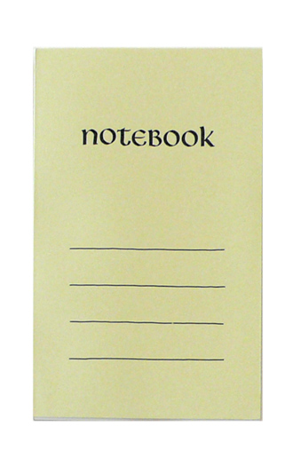 Paperback Notebook*ひわ