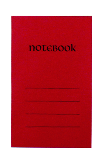 Paperback Notebook*べに