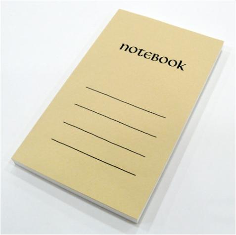 Paperback Notebook * にぶ空