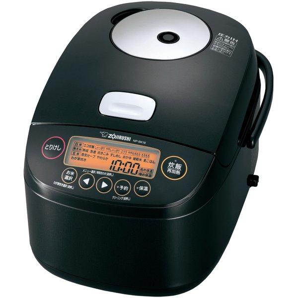 NP-BK18-BA ●象印 圧力IH炊飯ジャー 極め炊き (1.0升炊き) [ブラック](NP-BK18)