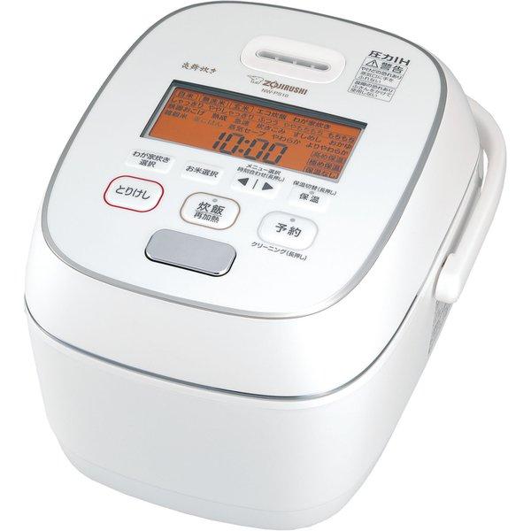NW-PS10-WZ ●象印 圧力IH炊飯ジャー 炎舞炊き (5.5合炊き) [粉雪](NW-PS10)