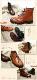 メダリオン ショートブーツ 本革 日本製 【送料無料】【Today's】ウィングチップに上品メダリオン★マニッシュにキメる。ショートブーツ!上質本革光沢仕上げ  [FOO-FT-5525](25.0)H3.0