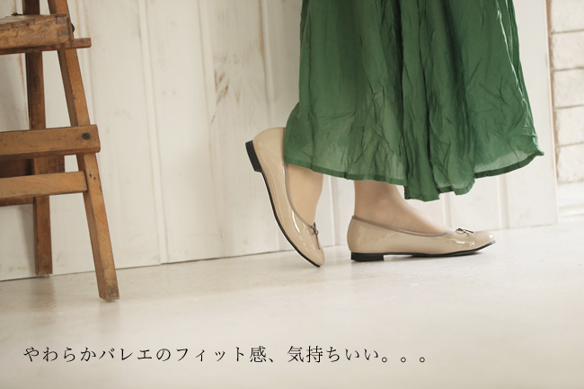 【送料無料】【SUaSHI(スウェイシー)】ひと足入れた瞬間から違う!まるで素足のようなバレエーシューズ。脱げにくさを実感。シューズイン神戸オリジナル全面低反発クッション&幅広2E+ スアシ[FOO-AM-R1601]