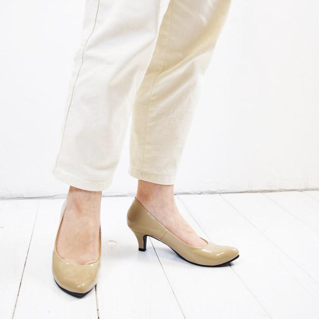 【SUaSHI(スウェイシー)】ひと足入れた瞬間から違う!まるで素足のようなパンプス。アーモンドトゥすっきりパンプスシューズイン神戸オリジナル全面低反発クッション&幅広2E+ スアシ[FOO-MG-R5551](22.0・25.0)H5.0