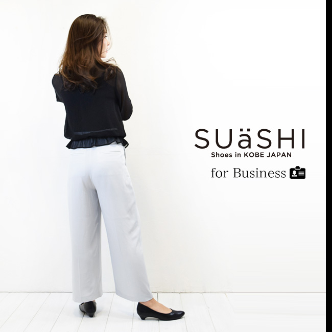 ビジネス【送料無料】【SUaSHI(スウェイシー)】ひと足入れた瞬間から違う!まるで素足のようなパンプス。アーモンドトゥローヒールパンプスシューズイン神戸オリジナル全面低反発クッション&幅広2E+[FOO-AM-R7700](22.0・25.0)H3.0