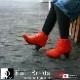 ニット ショートブーツ 日本製 【送料無料】【KEiKA(ケイカ)】シームレスニットで美しく・・・[特許取得]継ぎ目無く魅せるニット・ショートブーツ [FOO-KE-SP712](25.0)H5.0-H7.0