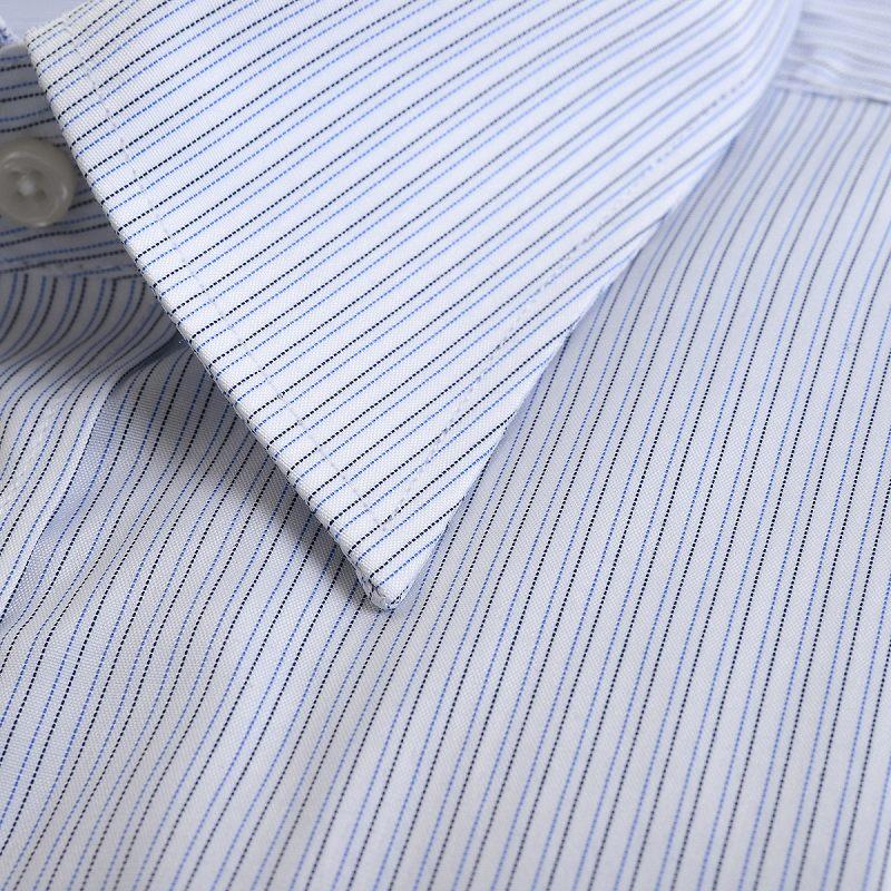 形態安定 レギュラーカラー ワイシャツ 半袖 【LADE ASTON】