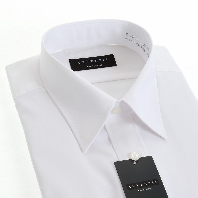 定番白シャツ5枚セット 形態安定 レギュラーカラー ワイシャツ 長袖